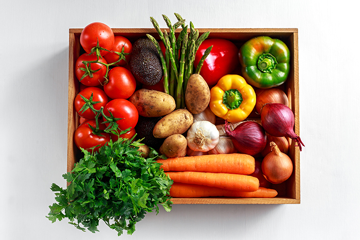Mixed fruit and veg box