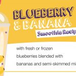 Blueberry and banana smoothie recipe