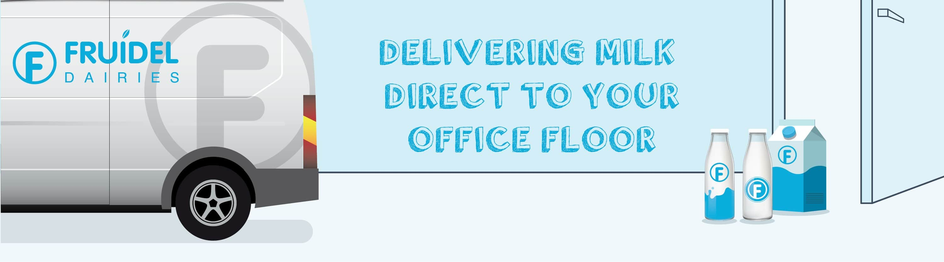 Delivering milk direct to your office floor